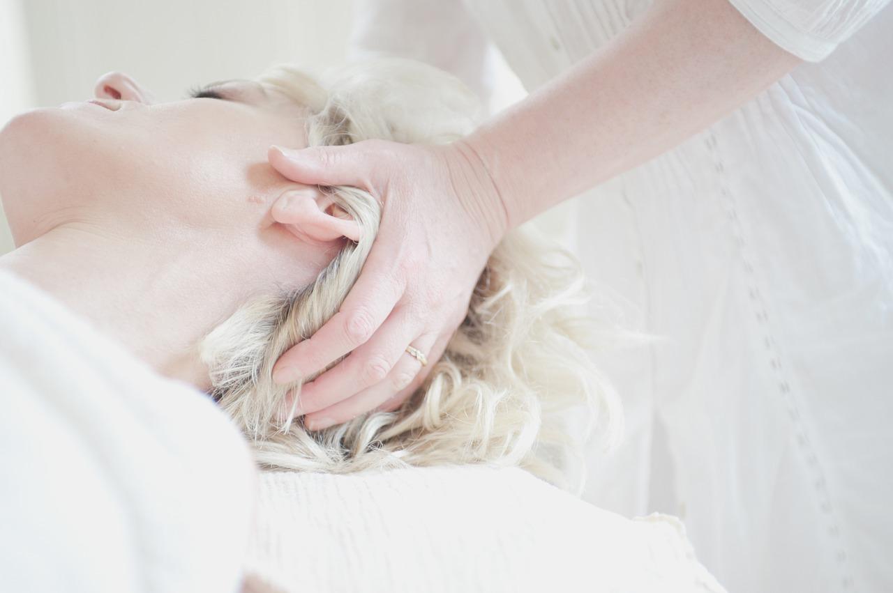 head, massage, treatment